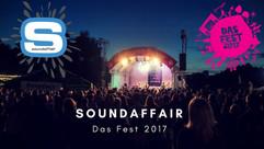 Das Fest 2017   Vorfest