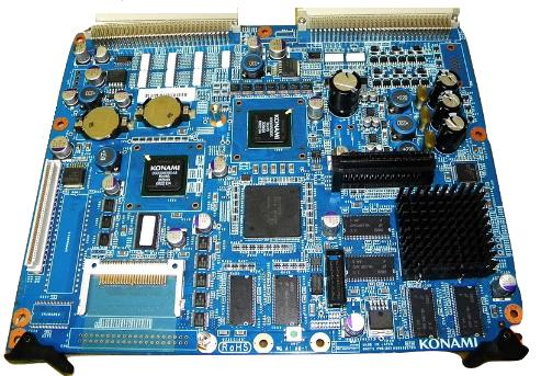 Konami K2V Mainboard