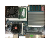 KONAMI KP3 CPU 310304 with Blue Video Card E2400