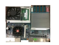 KONAMI KP3 CPU 310304 with Blue Video Card E2400