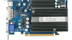 Aruze Albatron 7600GS Video Card