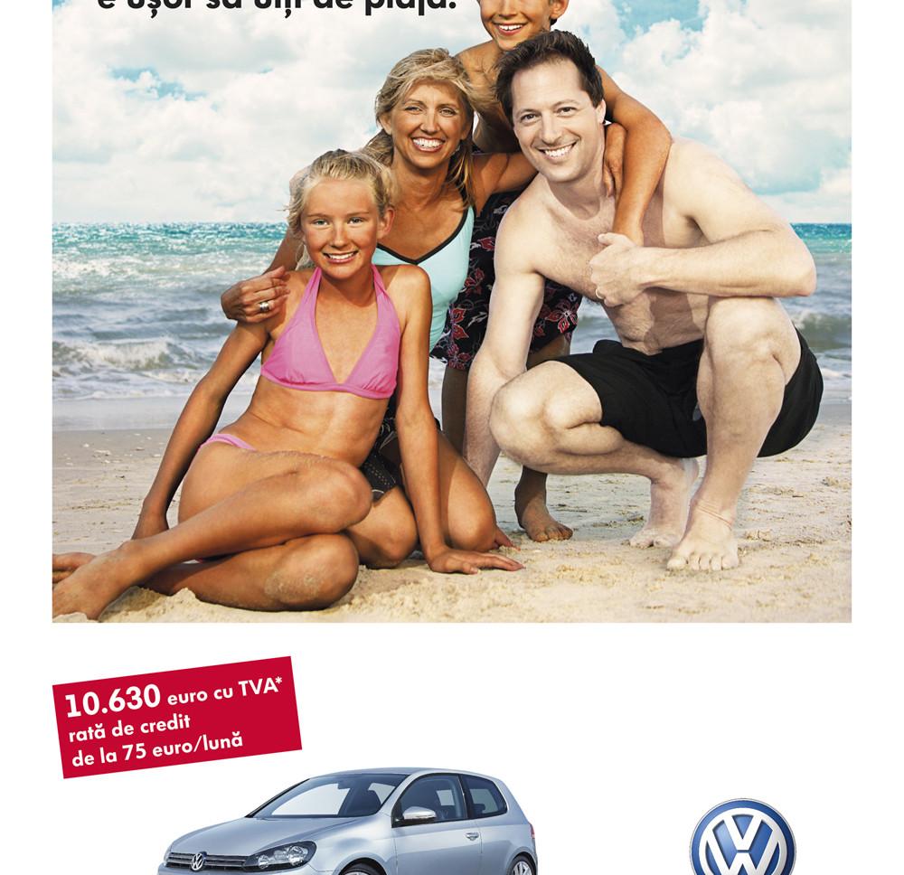 VW Golf Summer Promo