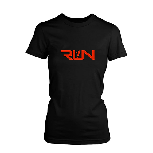 Ladies Original RUN Logo Tee