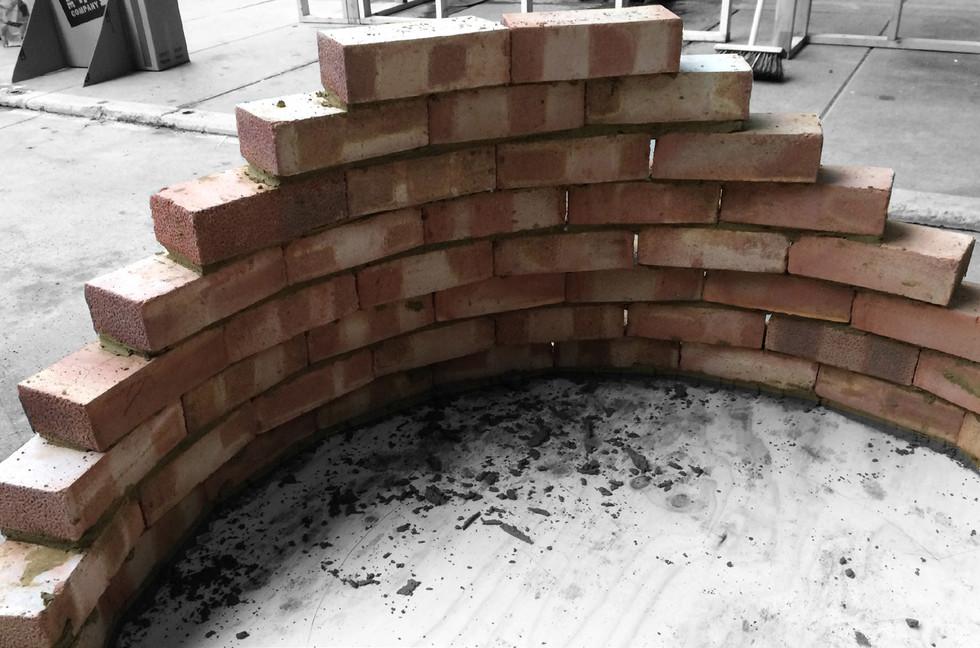 Deformed Brick Wall