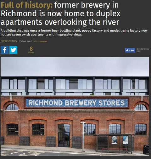 The Brewery Project in Richmond 10 years and 3 clients later...
