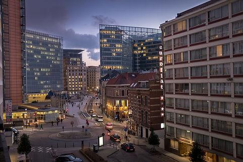 Quartier Schumann à Bruxelles