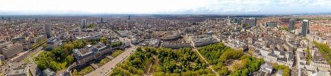 Parc Royal de Bruxelles, vu du ciel