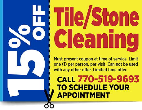 Tile cleaning, Stone Cleaning, Coupon