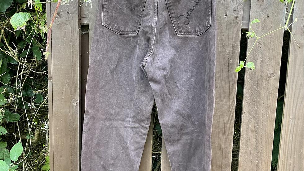 Vintage Brown Jeans
