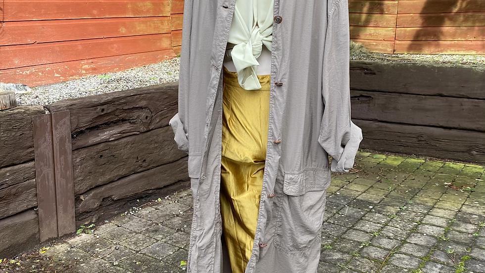 Lightweight khaki coat