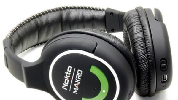 Nokta Makro 2.4gHz Green Headphones