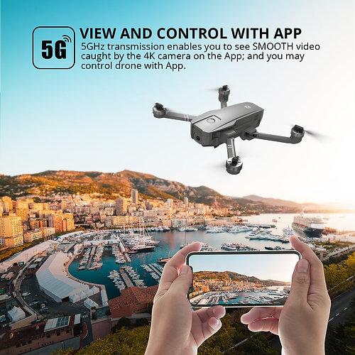 HS720 4K Foldable Drone