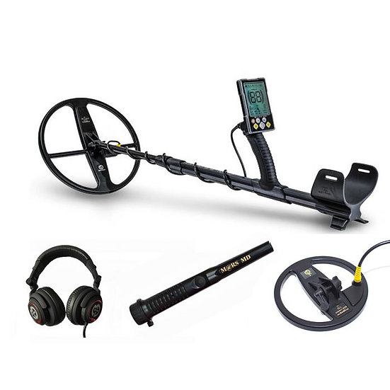 MARS MD GAUSS METAL DETECTOR PRO PACK