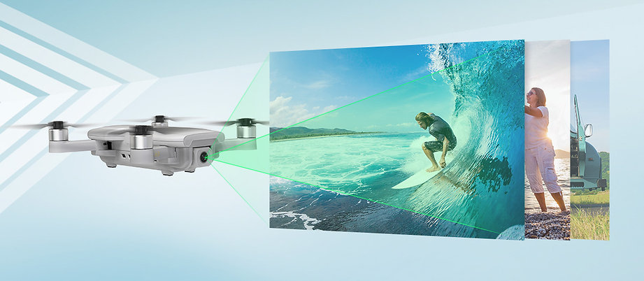 HS510 GPS FPV Drone