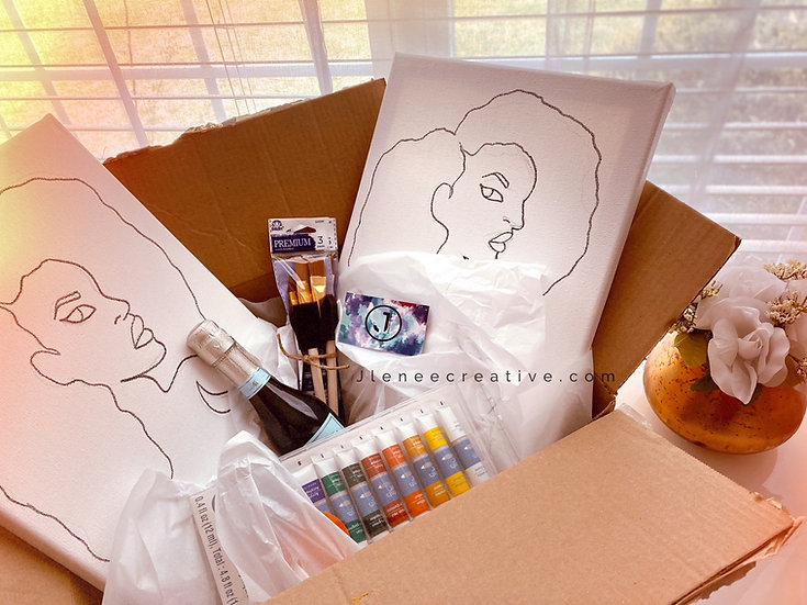Private Paint Night Box (Party of 2)