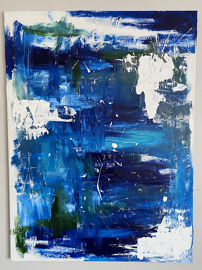 Virgo Original Painting