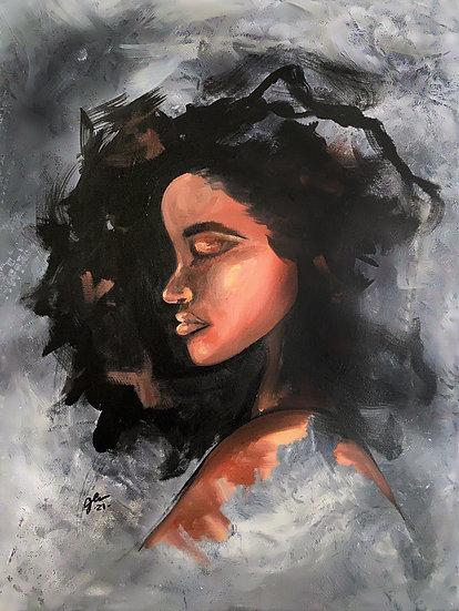Ariyah Canvas Print