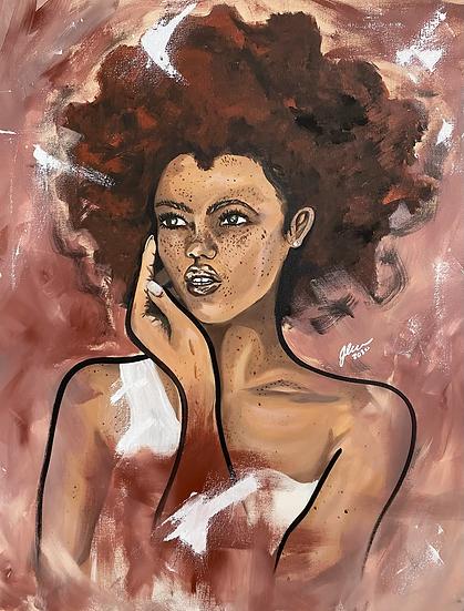 Firestarter Original Painting
