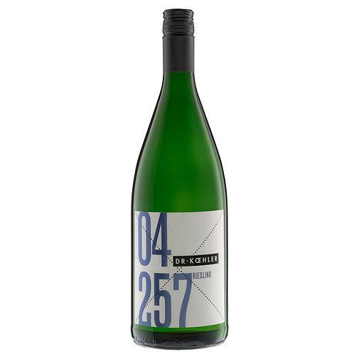 Dr. Koehler   2017 Riesling Gutswein Literflasche