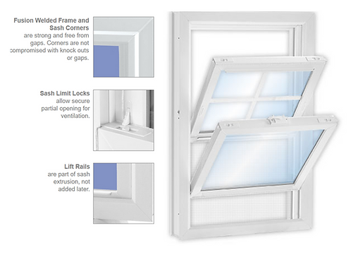 3000 Series Double-Hung Window (Installation included)