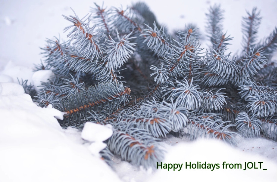 happy holidays from jolt freelancing team