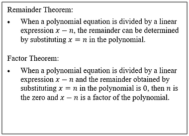 Remainder and polynomial theoremCapture.