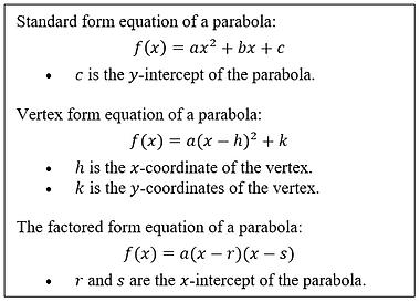 parabola equations Capture.PNG