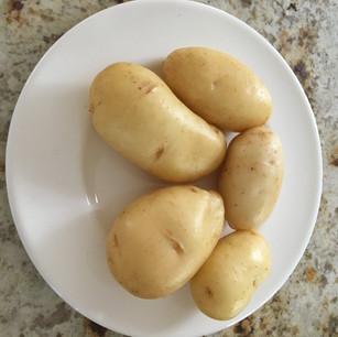 Class 5 - 5 coloured potatoes Mrs M Brown)