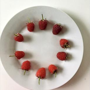 Class 20 - Dish of raspberries (Mrs Julie Cox)