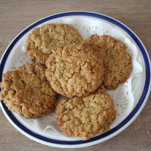 Class 53 5 Ginger Oat crunch biscuits (Ms Jan Janman)