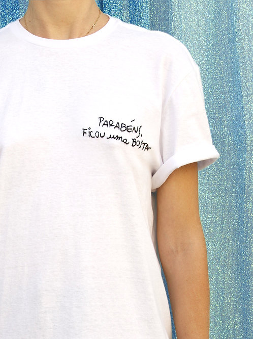 Camiseta PARABENS