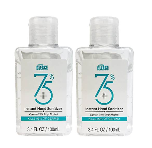 Cleace Instant Hand Sanitizer 75% 100ml