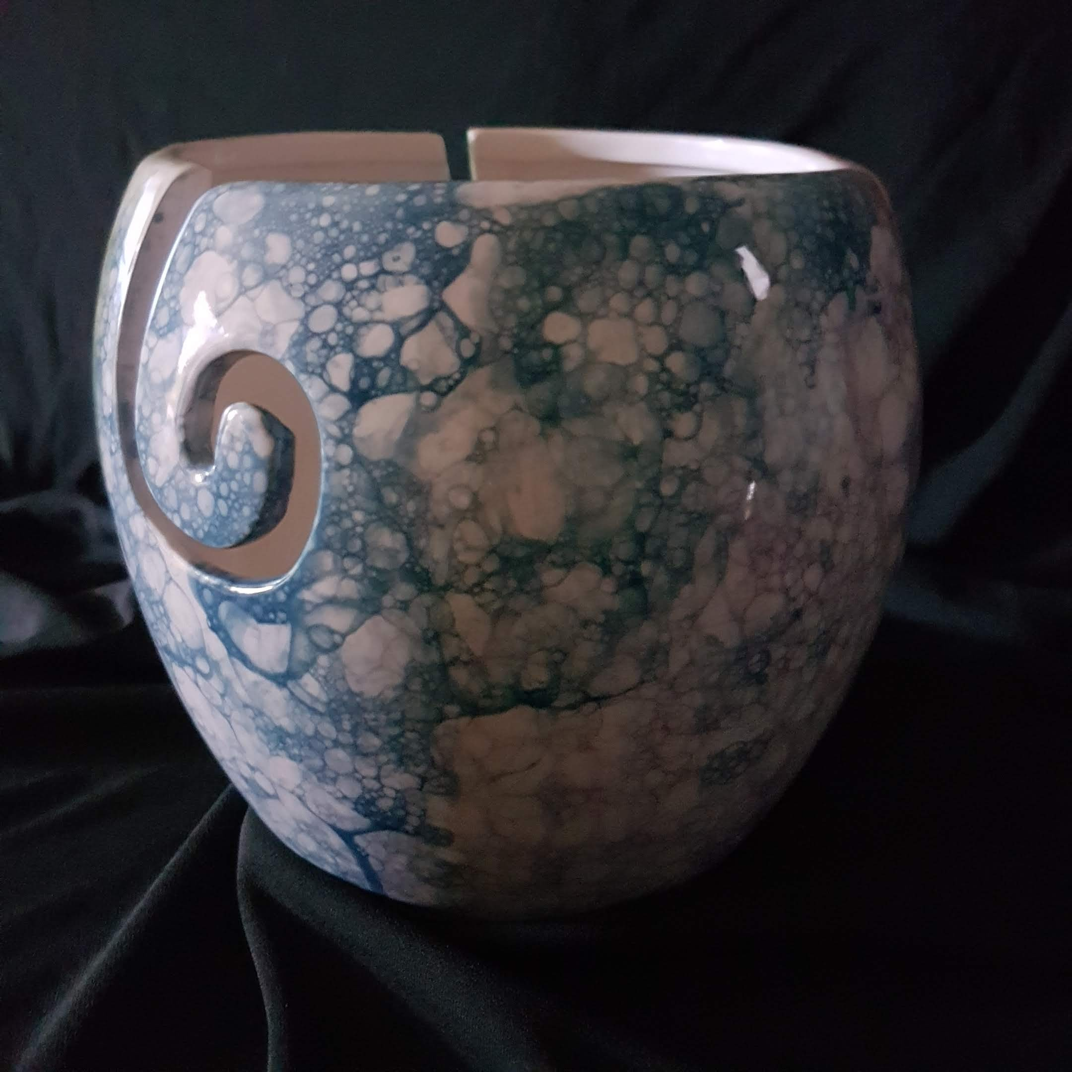Large Bubble Yarn Bowl