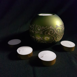 Ornamental Tea Light Holder