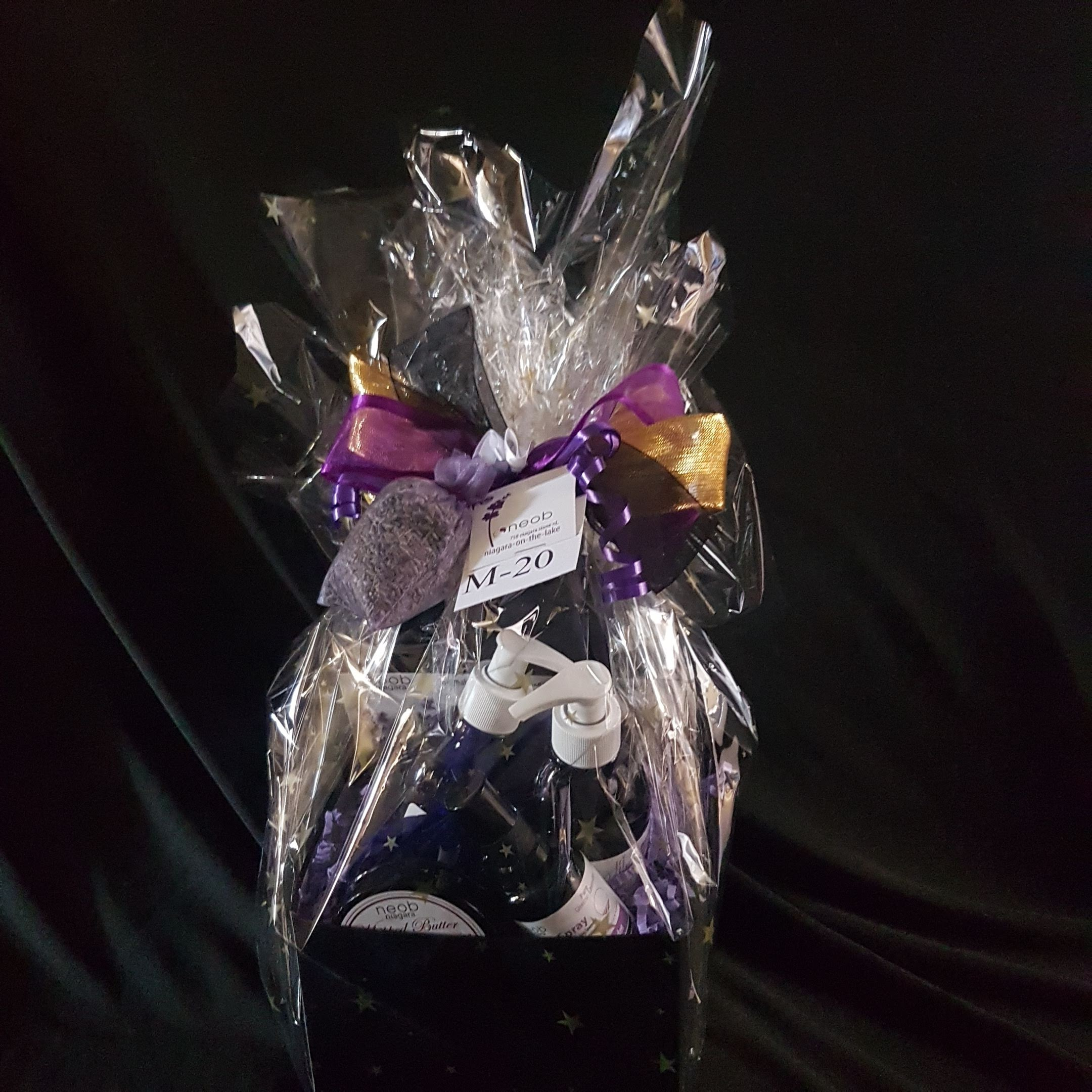 Lavender Twist Basket