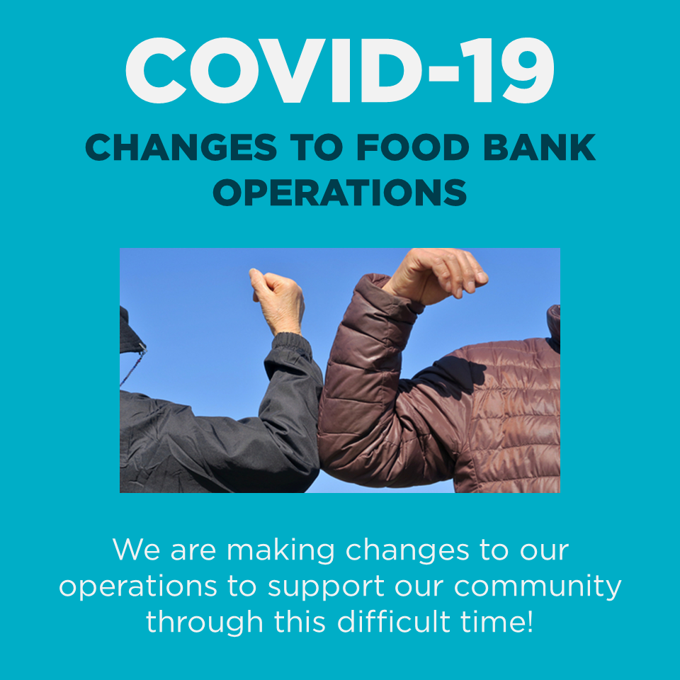 COVID-19 Changes to Food Bank Operations