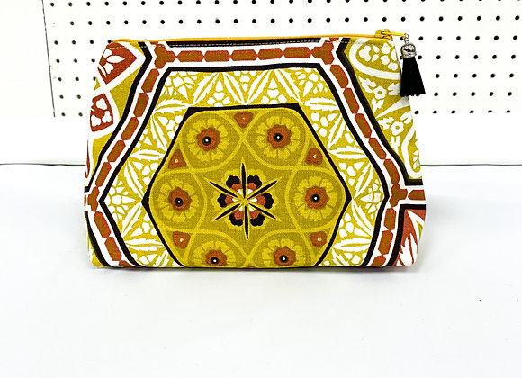 Large Upcycled Zipper Bag (karina)