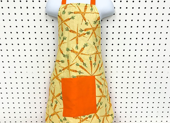 Child Apron (carrot orange)