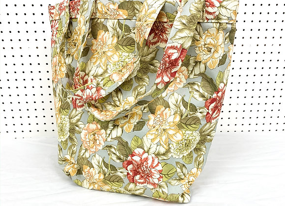 Large Village Bag (equine flowers)