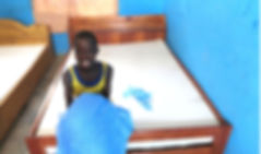 Family Receives Bed Net and Bedding