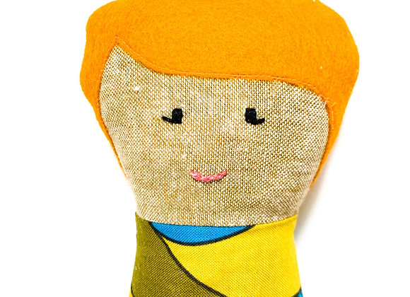 Rise Folk Doll (Anna)