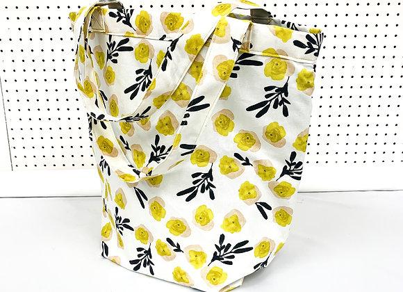 Large Village Bag (yellow blooms)