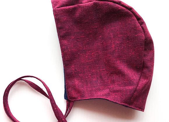 Baby Bonnet (Cranberry)