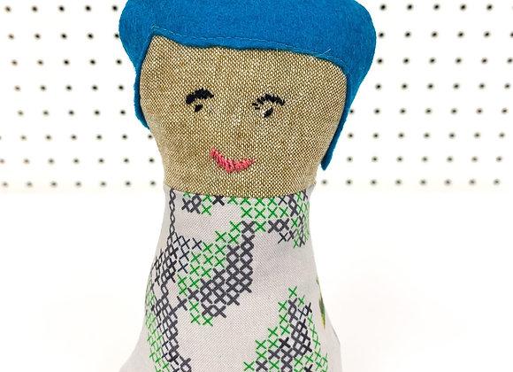 Rise Folk Doll (Aurora)
