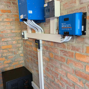 Victron 10 KVA Quattro Inverter + Bluesolar Charge controller + 9.6 KW Pylontech Lithium battery pack