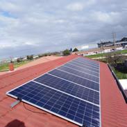 6.7 KW Hybrid PV system