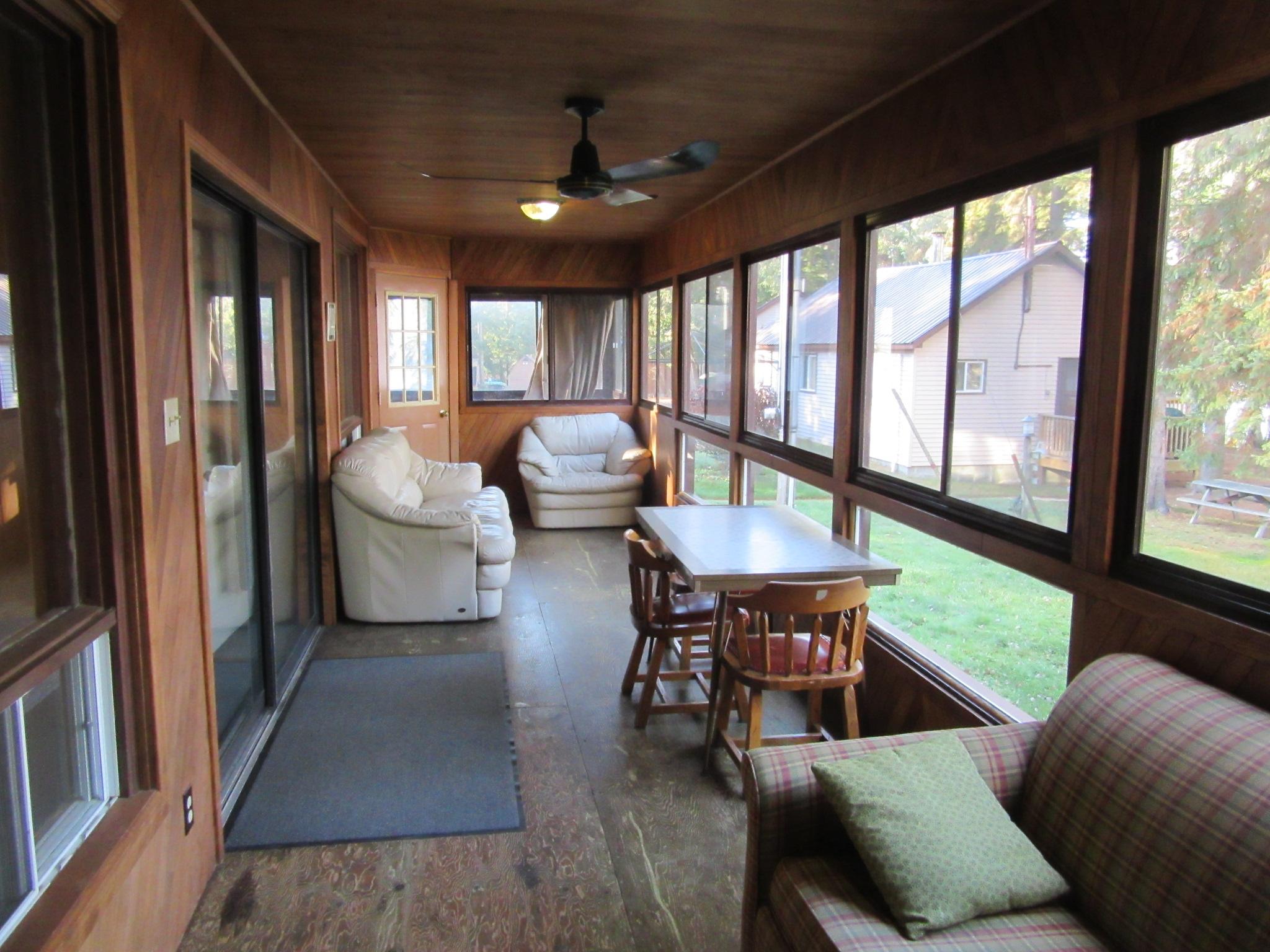 Large Enclosed Deck