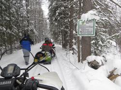 Seguin Trail Snowmobiling