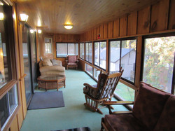 Enclosed Lakefront Deck
