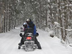 Cabin Winter Getaway